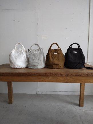Garment dye drawstring bag (linen)