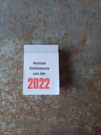 BRUNNEN 日めくりカレンダー 2022