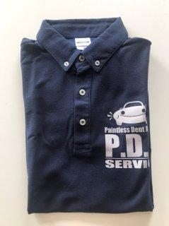 ポロシャツ 紺(3L)