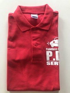 ポロシャツ 赤(M)