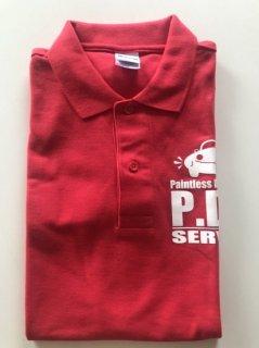 ポロシャツ 赤(5L)