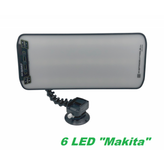 ネプロコードレスライト MaksMaster-MG2 6LED(BMA)マキタバッテリー