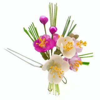 季節の簪&ブローチキット お正月