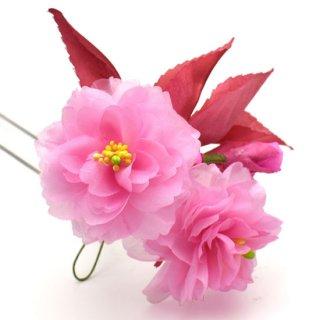 季節の簪&ブローチキット 八重桜