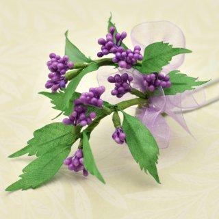 季節の簪&ブローチキット 紫式部