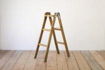 レトロ 脚立 楢無垢材 木製 ヴィンテージ ディスプレイ 6号