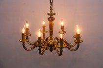 ヴィンテージ クラシカル 8灯 シャンデリア アンティーク 照明 ペンダント