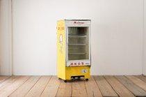 レトロ 冷蔵ショーケース 冷蔵庫 什器 家電 看板 サンヨー クーラー 業務用 マミー 森永牛乳 ヴィンテージ ジャンク