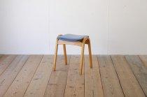秋田木工 剣持勇 スタッキングスツール No.202 ビンテージ レトロ チェア 曲げ木 椅子