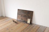 レトロ 黒板 ブラックボード 木製 ヴィンテージ ディスプレイ 壁面 ディスプレイ 装飾