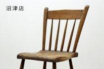 【沼津店】 ヴィンテージ クラシカル 無垢材 ダイニングチェア サイドチェア 小椅子 アンティーク 2