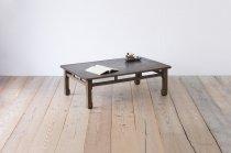 レトロ 座卓 ローテーブル センターテーブル ちゃぶ台 無垢材 1