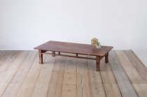 レトロ 座卓 ローテーブル センターテーブル ちゃぶ台 無垢材 2