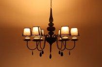 IDC大塚家具 IDEAL LUX イデアル ルクス 6灯 シャンデリア 照明 ライト ランプ クラシカル