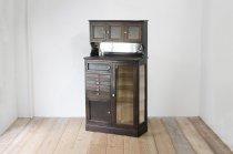 レトロ デンタル キャビネット ドクターズ 食器棚 コレクションボード リビング 本棚 飾り棚 ヴィンテージ 収納