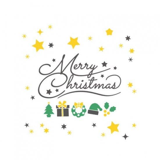 メッセージTB (Merry Christmas 緑)