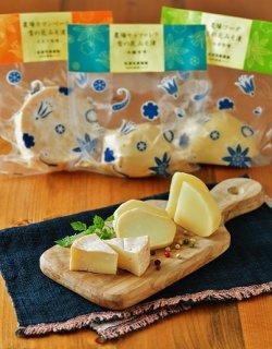 【入荷待ち】<br>チーズ職人と味噌蔵人の<br>美味しい出会い<br> <b>農場ナチュラルチーズ<br>雪の花みそ漬け3種セット<br>