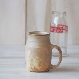 粉福牛乳びんマグカップ