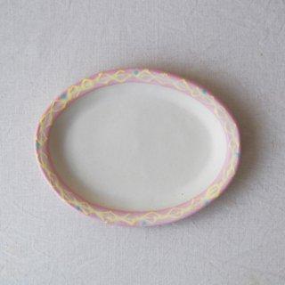 いっちんだえんリム皿-ピンク-