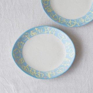 いっちん楕円皿-ブルー-