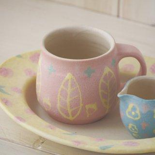 いっちんマグカップ・ハニーポット-ピンク-