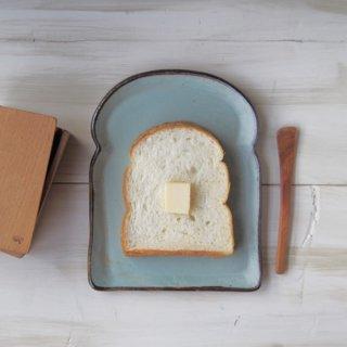 zakka・食パン皿-l-ブルー