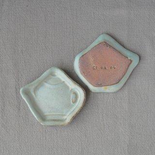zakka・ティーポット豆小皿-ブルー