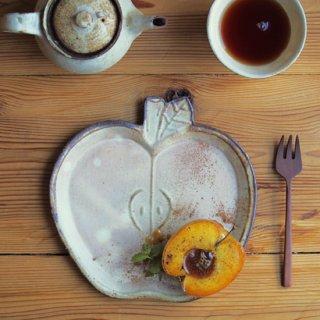 粉福りんご皿-L-