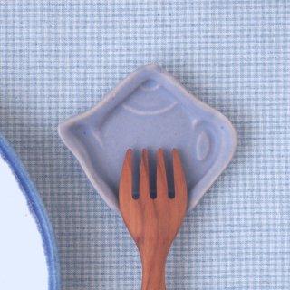 マカロンラベンダー・豆小皿ティーポット