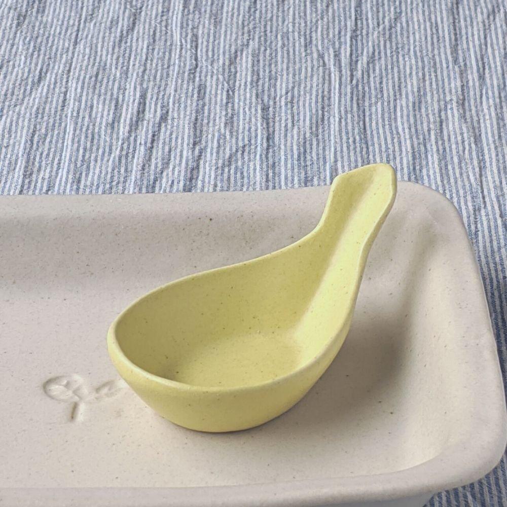 マカロンイエロー・れんげ豆小鉢
