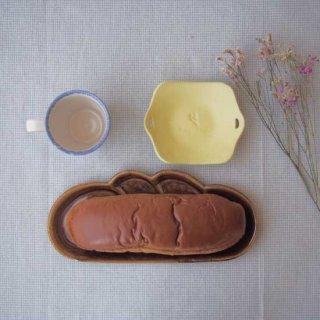 飴釉コッペパン皿