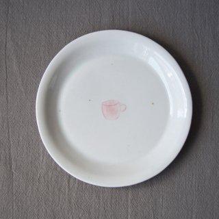 白磁パイ皿-マグカップ-