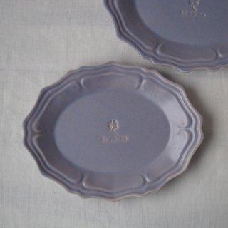 マカロンラベンダー・グレース楕円皿