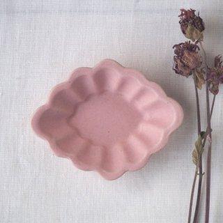 マカロンピンク・花ひし豆小皿