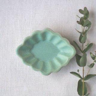 マカロンミントグリーン・花ひし豆小皿