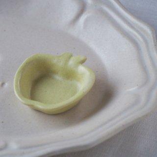 マカロンイエロー・りんご豆小皿