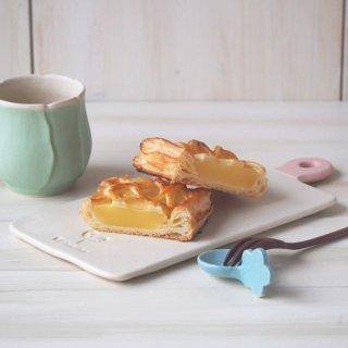 マカロンミルキーホワイト&ピンク・カッティングボード皿(S)