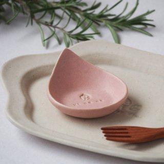 マカロンピンク・しずく豆小皿