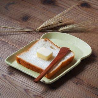 マカロンイエロー・食パン皿(M)