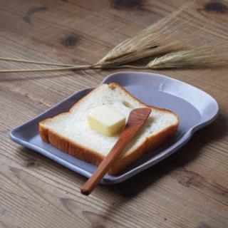 マカロンラベンダー・食パン皿(M)