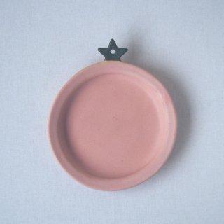 マカロン・ピンクトマト皿