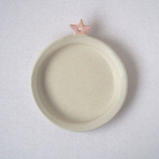 マカロンミルキーホワイト・トマト皿