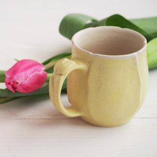 マカロンイエロ−・マグカップ-tulip-