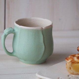 マカロンミントグリーン・マグカップ-tulip-