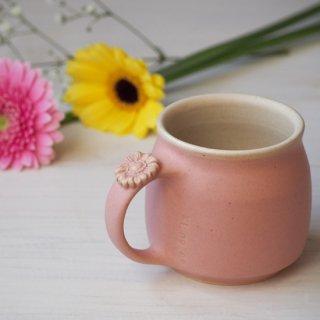 マカロンピンク・マグカップ-gerbera-