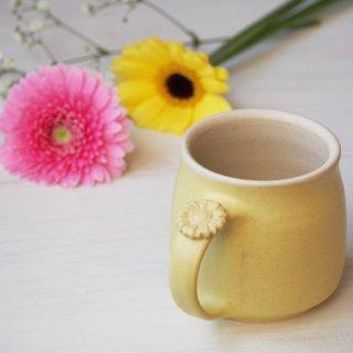 マカロンイエロー・マグカップ-gerbera-