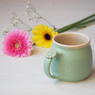 マカロンミントグリーン・マグカップ-gerbera-