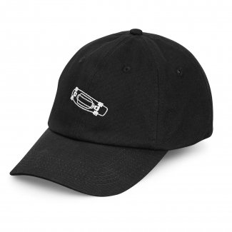 <img class='new_mark_img1' src='https://img.shop-pro.jp/img/new/icons14.gif' style='border:none;display:inline;margin:0px;padding:0px;width:auto;' />ペニーPENNY 6PANELS DAD HAT BLACK 6パネル ダッドハット ブラック