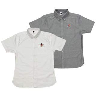 <img class='new_mark_img1' src='https://img.shop-pro.jp/img/new/icons50.gif' style='border:none;display:inline;margin:0px;padding:0px;width:auto;' />HEXAGRAM LOGO OX Shirt SS