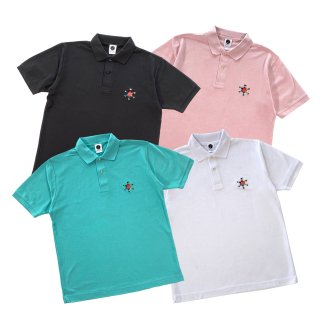 <img class='new_mark_img1' src='https://img.shop-pro.jp/img/new/icons50.gif' style='border:none;display:inline;margin:0px;padding:0px;width:auto;' />HEXAGRAM LOGO POLO S/S SHIRT